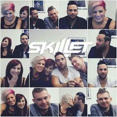 Live chat with skillet! Christian Rock Bands, Christian Music, Skillet Band, Jen Ledger, Memphis May Fire, Austin Carlile, Chris Tomlin, Mikey Way, Bob Seger