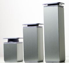 Aluminium-Moebelfuesse-Sockelfuesse-Schrankfuesse-Moebelfuss-Moebelbeine-Sockelfuss