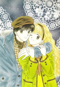 Artwork by Wataru Yoshizumi for Handsome Girlfriend (1988)