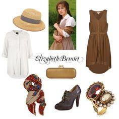 """Elizabeth Bennet"" by makaylabaker on Polyvore-    I made it guys : )"