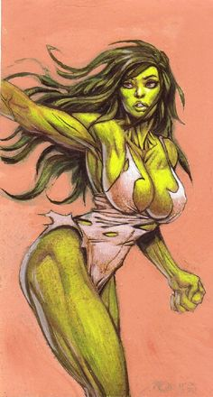 #She #Hulk #Fan #Art. (She-Hulk) By: Moritat. (THE * 5 * STÅR * ÅWARD * OF: * AW YEAH, IT'S MAJOR ÅWESOMENESS!!!™)[THANK U 4 PINNING!!<·><]<©>ÅÅÅ+(OB4E)