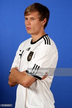 Holger Badstuber of Germany poses during the official FIFA World Cup 2010 portrait session at Velmore Hotel on June 8 2010 in Pretoria South Africa