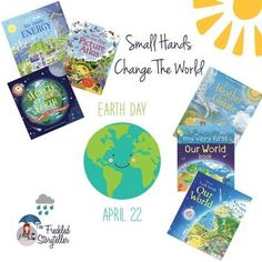 I love finding books for our home library that reinforce what my son is learning at school. Usborne Books and More has lots of books that will help celebrate and teach the importance of taking care of our planet.