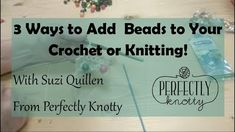 3 Different Ways To Add Beads To Your Crochet Tiny Treasures, Beads, Crochet, Youtube, Sequins, Beading, Tejidos, Bead, Ganchillo