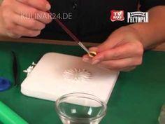 Украшение тортов.Изготовление бабочек, ромашек, пасхальных яиц, банта. Урок №5 Kulinar24TV - YouTube
