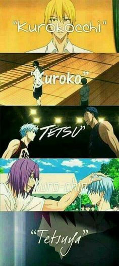 There are many ways to call the Invisible Man of Kiseki no Sedai...