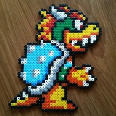 Bowser hama beads by donnellando