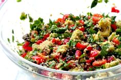 GLOW FROM THE INSIDE OUT WITH THIS VEGAN QUINOA SALAD