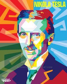 WPAP Nikola Tesla by Pasoepati72