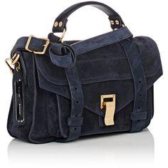 4b130f8fef 0 Designer Crossbody Bags, Jacquard Fabric, Leather Handle, School Bags,  Proenza Schouler