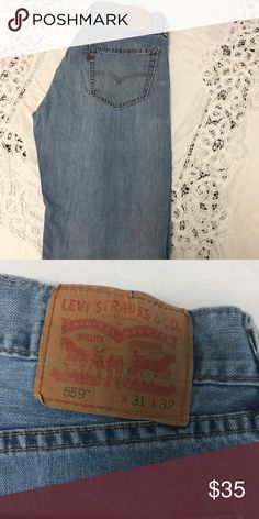 Levi's 559 31x32 Men's Levi's Jeans 559 31X32 Gently used, no rips tears or stains levis Jeans Straight