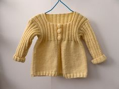 Ravelry: sofiecat's Yellow Baby Cardi
