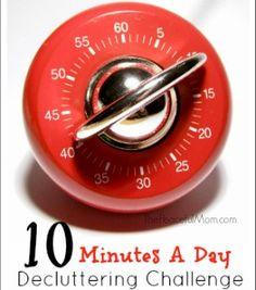 10 Minutes A Day Decluttering Challenge: June Update