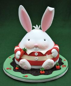 Chubby Bunny - Cake by Lesley Wright