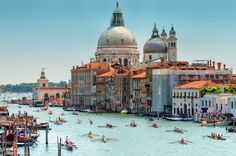 13 Places to Visit . . . Venice, ItalyOffering everything from amazing cuisine to intimate gondola rides through the city's epic canals, Venice has all the makings of the perfect vacation. With sea levels rising rapidly, Venice floods an average of 100 times a year and is at risk of sinking completely in the next century.