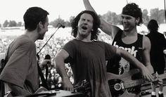 Jeff Ament Stone Gossard Eddie Vedder