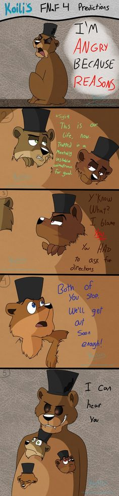 FNaF 4 - Five Nights at Freddy's 4 Predictions by Koili on DeviantArt