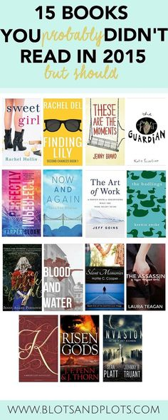 Books You Probably Didn't Read in 2015 | Blots & Plots