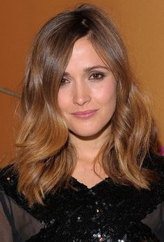 #rose byrne #casual hair