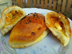 Kabaklı poğaça (fotorecept) - obrázok 7 Hot Dog Buns, Hot Dogs, Bagel, Bread, Food, Brot, Essen, Baking, Meals