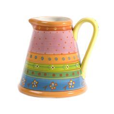 This attractive water jug will look equally good on a kitchen window sill with some summer flowers.