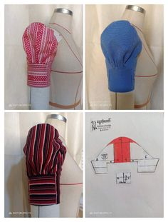 22 Ideas Sewing Hacks Clothes Pictures For 2019 Kurti Sleeves Design, Sleeves Designs For Dresses, Sleeve Designs, Dress Sewing Patterns, Blouse Patterns, Bag Patterns, Textile Manipulation, Sewing Sleeves, Saree Blouse Neck Designs
