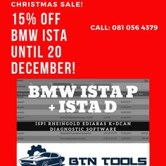 BTN Tools Cape Town sells all types of Automotive Diagnostic equipment for most Cars and Trucks. Christmas Sale, Bmw, Tools, Instruments