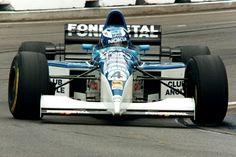 Tyrrell Yamaha 023 (1995) drived by Mika Salo