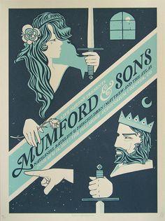 Mumford & Sons, Graphic Design, creative, visual, inspiration