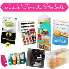 Lisa's Favorite Organization Products | Organize 365 http://itz-my.com