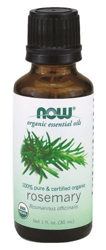 NOW Essential Oils Rosemary Oil - 100% Pure & Certified Organic $15.29 - from Well.ca