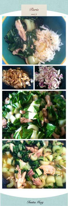 Snel snel snel @KookMetMij met de kippendijvlees van @SlageryAtlantic met paksoi in zoetzure saus mix van @Chansbv