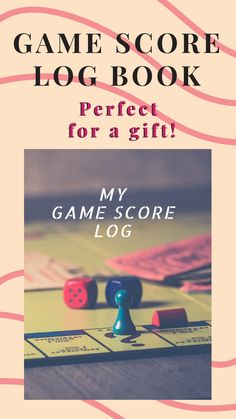 My Game Score Log: Keep track of your game scores when playing with other players Nursing Administration, Childrens Ebooks, Keep Track, 12th Book, Love You Forever, I Am Game, Paperback Books, Scores, Audio Books