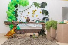 Ninho de dinossauro, fiz os ovos com cabaças Nest Box, Eggs, Mesas
