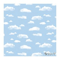 Fadeless® Clouds & Sky Art Paper Rolls