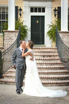 Springdale House   First Look   Lexington, SC Wedding Photographer   Mary DeCrescenzio Photographer