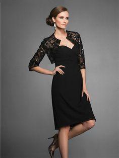 Sheath/Column Sweetheart Sleeveless Sequin Knee-length Chiffon Mother of the Bride Dresses