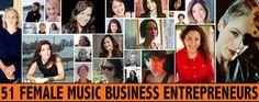 51 Female Music Entrepreneurs Share Their Best Advice (Part 1) http://cyberprmusic.com/2013/06/20/51-female-entrepreneurs/