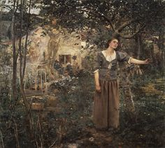 Jules Bastien-Lepage (French, 1848–1884) | Joan of Arc | 1879