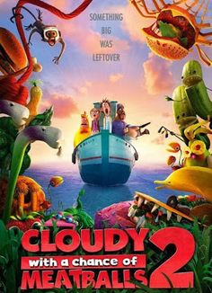 Cloudy with a Chance of Meatballs 2 2013 Full English Movie 300MB