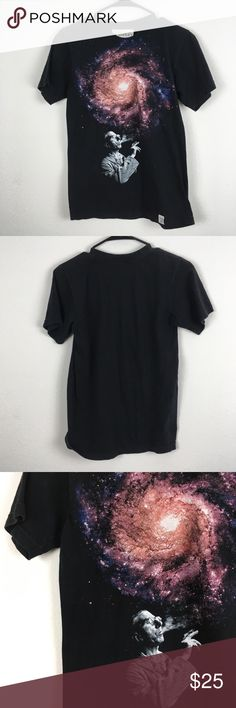 """Imaginary Foundation / Infinite Art Graphic Tee Infinite Art screen print. Great used condition, no flaws, non-smoking home.  Measurements laid flat - Pit to pit 17"""" - Length 26""""  No trades, please :) Imaginary Foundation Shirts Tees - Short Sleeve"""