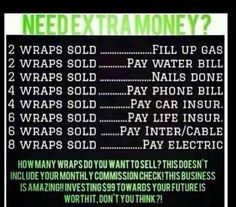 What could you do with extra money?  Www.abdavis.myitworks.com