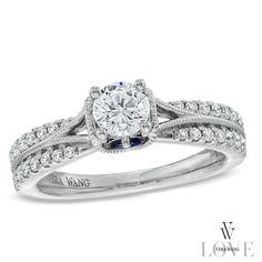 Classically-inspired Vera Wang LOVE ring