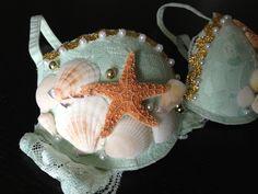 Mermaid+Rave+Bra+by+DirtyBeatsBoutique+on+Etsy,+$50.00