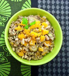 Non un risotto nel vero senso della parola, ma un grande mix di ingredienti con sapori e consistenze diverse