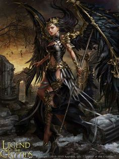 Legend of the Cryptids - Zesperia - Laura - anotherwanderer - Fantasy - Fashion - Conceptual - Guardian - Gatekeeper Dark Fantasy Art, Foto Fantasy, Fantasy Art Women, High Fantasy, Fantasy Girl, Fantasy Artwork, Dark Art, Angel Warrior, Fantasy Warrior
