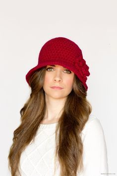 Hopeful Honey | Craft, Crochet, Create: 1920's Cloche Hat Crochet Pattern