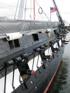 Old Ironsides in Boston, Massachusetts
