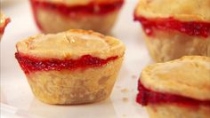 Giada De Laurentiis - Baby Strawberry and Honey Pies