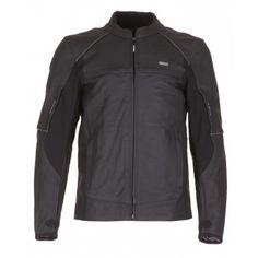 Kurtka MODEKA BLACK STAR czarna męska | MODEKA BLACK STAR Leather Jacket Man #Motomoda24